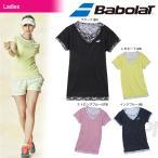 バボラ Babolat テニスウェア Women's レディース ショートスリーブシャツ BAB-1692W 「2016FW」「テニコレ掲載」