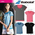 バボラ Babolat テニスウェア  Women's レディース ショートスリーブシャツ BAB-1732W 「2017SS」『即日出荷』「2017新製品」