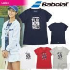 バボラ Babolat テニスウェア Women's レディース ショートスリーブシャツ BAB-8784W 2017FW 「8月発売予定 予約」「2017新製品」