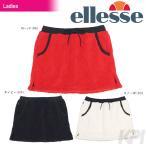 「2016新製品」Ellesse(エレッセ)「レディース フリーススカート EW26355」テニスウェア「2016FW」