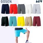 ゴーセン GOSEN テニスウェア UNI ハーフパンツ PP1600 「2016SS」「テニコレ掲載」「2017モデル」