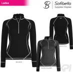 テニスウェア レディース ソフィベラ Sofibella Supplex Staples Collection サプレックスコレクション Relentless Jacket SU21190 FW