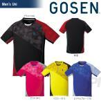 「2017新製品」GOSEN ゴーセン 「UNI ゲームシャツ T1706」テニスウェア「2017SS」