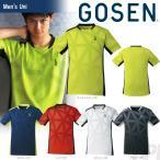 ゴーセン GOSEN テニスウェア UNI ゲームシャツ T1726 2017新製品 2017FW