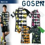 ゴーセン GOSEN テニスウェア ユニセックス ゲームシャツ T1804 2018SS 12月発売予定※予約