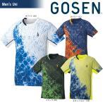 ゴーセン GOSEN テニスウェア ユニセックス ゲームシャツ T1806 2018SS 12月発売予定※予約