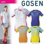 ゴーセン GOSEN テニスウェア レディース ゲームシャツ T1807 2018SS『即日出荷』