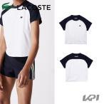 ラコステ LACOSTE テニスウェア レディース PLAYERS Tシャツ/カットソー TF7075L 2021FW『即日出荷』