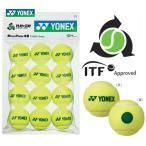 ヨネックス YONEX テニスボール マッスルパワーボール40 STAGE1 GREEN TMP40 12個入り キッズ/ジュニア用