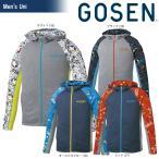 ゴーセン GOSEN テニスウェア ユニセックス ファンプラジップアップ UT1804 2018SS 2月発売予定※予約
