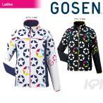 GOSEN(ゴーセン)「Women's レディース ウィンドウォーマージャケット(裏起毛) UY1601」テニスウェア「2016FW」「KPI」