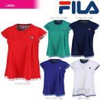 フィラ FILA テニスウェア レディース ゲームシャツ VL1681 2017新製品 2017FW