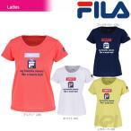 フィラ FILA テニスウェア レディース グラフィックTシャツ VL1684 2017FW「2017新製品」