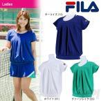 「2017新製品」フィラ FILA テニスウェア 「レディース ゲームシャツ VL1721」「2017FW」