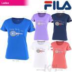 フィラ FILA テニスウェア レディース グラフィックTシャツ VL1742 2017FW 楽天オープン限定商品『即日出荷』
