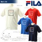 『即日出荷』「2017モデル」FILA(フィラ)「63 Uni 上地結衣選手応援Tシャツ VM5282」テニスウェア「2016FW」