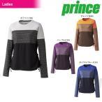 『即日出荷』「2016新製品」Prince(プリンス)「LADIE'S レディース ロングスリーブシャツ WL6153」テニスウェア「2016FW」