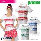 プリンス Prince テニスウェア レディース ゲームシャツ WL7040 「2017SS」「2017新製品」