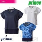 プリンス Prince テニスウェア レディース ゲームシャツ WL7044 「2017SS」「2017新製品」