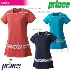 プリンス Prince テニスウェア レディース チュニックシャツ WL7402 「2017SS」「2017新製品」