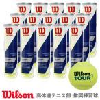 Wilson ウイルソン 「TOUR STANDARD ツアー・スタンダード  1箱 15缶  WRT103800」テニスボール『即日出荷』
