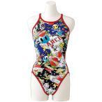アリーナ ARENA 水泳水着 レディース スーパーフライバック タフスーツ FSA7609W-RED