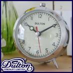 DULTON ダルトンアラームクロック(クォーツ) クロム ALARM CLOCK CHROME 置き時計 置時計 目覚まし時計 目覚し時計 アラーム時計 アラームクロック