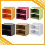 キューブボックス 棚付き パズルラック シェルフ 収納棚 飾り棚 収納ボックス 収納箱 カラーボックス おしゃれ オシャレ お洒落 かわいい カワイイ 可愛い