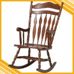 ロッキングチェア ロッキングチェアー 椅子 イス 揺り椅子 肘掛け 肘付き 肘掛 木製 天然木 レトロ おしゃれ ゆれる シンプル いす リビング 書斎 店舗用