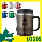 マグカップ ロゴス LOGOS プリメイヤーマグ コーヒーカップ タンブラー 蓋付き 保温 420ml 冷めにくい 飲みやすい プルタブ ツーリング 登山 BBQ キャンプ