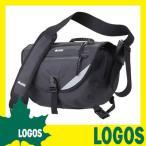 ショッピングメッセンジャーバッグ メッセンジャーバッグ ロゴス LOGOS BLACK SPLASH メッセンジャー 肩掛けバッグ ショルダーバッグ カバン かばん 鞄 防水 メンズ レディース