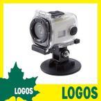 カメラ ロゴス LOGOS LOGOS アクションEZカム・mini 防水アクションデジタルデジカメ ビデオ小型 ミニ 防水 サーフボード スノーボード 水中 空中 撮影