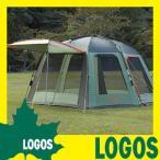 テント ロゴス LOGOS Q-PANEL インセクトスクリーン 3538 ドーム型大型タープ連結可能 キャノピーポール付き キャリーバッグ付き UVカット