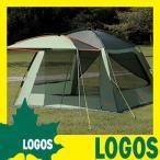 テント ロゴス LOGOS Q-PANEL iスクリーン 3535 ドーム型大型タープ連結可能 キャノピーポール付き キャリーバッグ付き UVカット