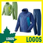 レインスーツ ロゴス LOGOS 蒸れを追放・LVS透湿レインスーツ リブラ レインウエア レインウェア 雨合羽 カッパ 雨具 レイングッズ アウトドア用品