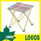 ミニテーブル ロゴス LOGOS チェッカー キュービックチェア(レッド) 折りたたみテーブル 折畳みテーブル コンパクトテーブル レジャーテーブル