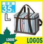 クーラーバッグ ロゴス LOGOS ストライプクーラーL クーラーバッグ クーラーボックス 保冷 クーラー 保冷バッグ エコバッグ ソフトクーラーボックス ボックス