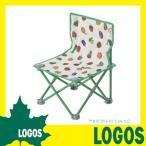 ロゴス LOGOS はらぺこあおむし タイニーチェア チェア イス いす 椅子 アウトドアチェア コンパクト 折りたたみ 軽量 背もたれ付き キャンプ BBQ バーベキュー