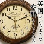 ショッピング掛け時計 掛け時計 アンティーク調 掛時計 電波時計 壁掛け時計 おしゃれ 連続秒針 スイープムーブメント 静か 日本製 電波掛け時計 木製 レトロ モダン シンプル