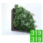 グリーンフレーム   ハーブミックス 300BR 壁飾り フェイクグリーン 人工観葉植物 ウォールデコレーション ウォールアート フレームアート  造花