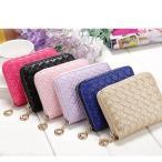 小銭入れ 財布 かわいいリング型チャーム  メッシュ編み  レディース