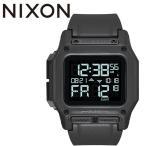 NIXON ニクソン  REGULUS レグルス 腕時計 メンズ クオーツ デジタル 46mm オールブラック A1180001-00
