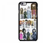 iphone6 6s スマホケース ハリーポッター Harry Potter Cast Art Case iPhone 7 正規輸入品