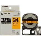 Tポイント15倍/(業務用3セット) キングジム テプラPROテープ/ラベルライター用テープ 〔幅:24mm〕 SC24D 橙に黒文字