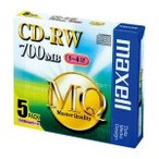 Tポイント15倍/(業務用セット) マクセル maxell PC DATA用 CD-RW 1-4倍速対応 CDRW80MQ.S1P5S 5枚入 〔×2セット〕