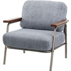 1人掛 椅子 W71×D78×H77×SH41cm 〔組立品〕 HS-554