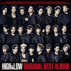 HiGH  LOW ORIGINAL BEST ALBUM(CD2枚組+DVD+スマプラ) 中古 良品