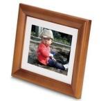 FUJIFILM デジタルフォトフレーム 7インチ 内蔵メモリー512MB 解像度800×600 オーク DP-S7V 中古 良品