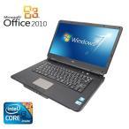 【Microsoft Office 2010搭載】【Win 7搭載】NEC VY22G/X-A/新世代Core i3 2.26GHz/メモリ4GB/HDD160GB/大画面15.6インチ/無線LAN搭載/..