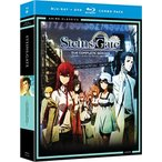STEINS;GATE -シュタインズ・ゲート-:コンプリート・シリーズ 廉価版 北米版 / Steinsgate: Complete Series Classic [Blu-ray+DVD][Import] 中古 良品